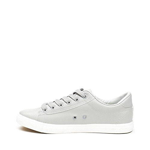 Ideal Shoes ,  Sneaker donna Grigio