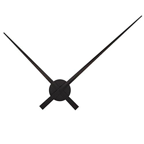 Fenteer XXL Wanduhr Uhrzeiger Uhr Zeiger Uhrwerk - Schwarz