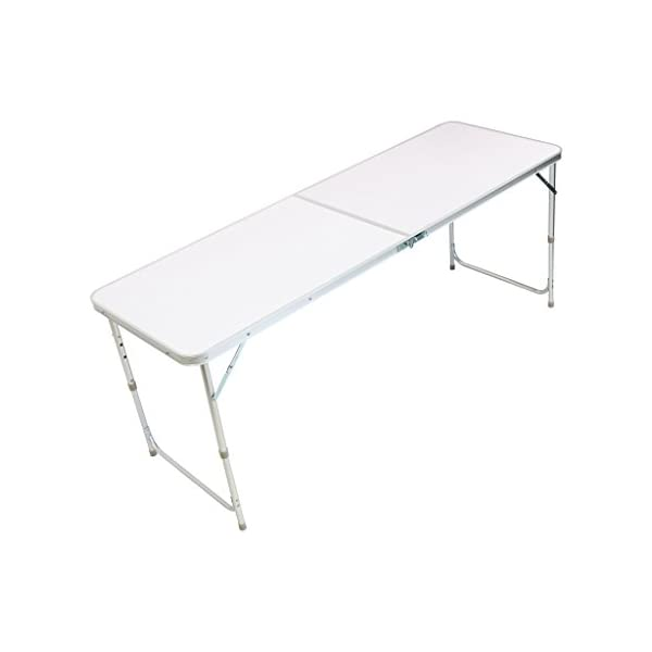 Oypla 4ft Folding Outdoor Camping Kitchen Work Top Table 1