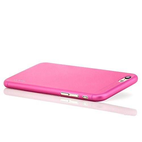 Hoco. Apple iPhone 6 / 6S Hülle Slim Case Cover Hardcase Schutzhülle | Pink Pink