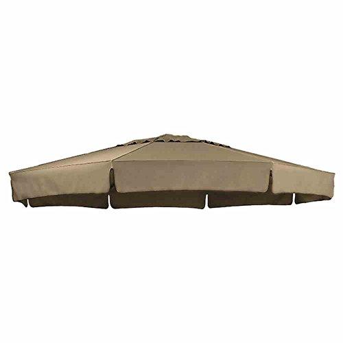 sun-garden-ersatzbezug-zum-easy-100-prozent-polyester-stoff-b145-durchmesser-350-cm-braun-taupe