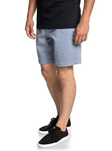 QUIKSILVER Herren Twist of Shadows Walk Shorts, Stone Wash, M
