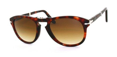 Sonnenbrille Persol-Modell: 0714Sun, Sonnenbrille für Herren, braun - Braun - Größe: 52