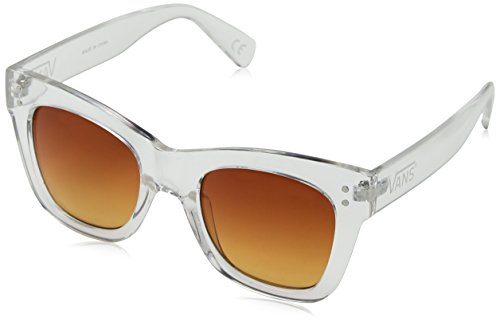 Vans Damen Sunny Dazy Sunglasses Sonnenbrille, Transparent (Clear-Sunset Gradient), 55