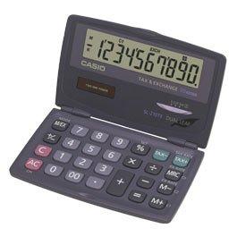 Galleria fotografica CASIO SL-210TE calcolatrice tascabile - Richiudibile display a 10 cifre