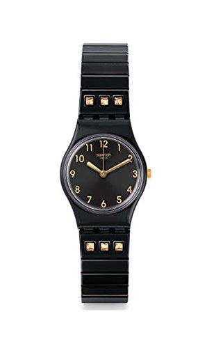 Swatch Orologio Analogico Quarzo Unisex con Cinturino in Acciaio Inox LB181B