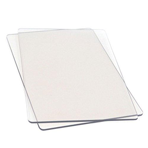 Sizzix - Planchas para estampar en tejido (tamaño estándar)