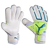 Puma PowerCat 2.12 Protect RC Soccer Goalie Glove, White, 11
