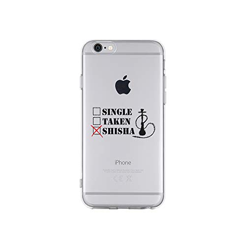 licaso Apple iPhone 6 Handyhülle Smartphone Apple Case aus TPU mit Single, Taken, Shisha Print Motiv Slim Design Transparent Cover Schutz Hülle Protector Soft Aufdruck Lustig Funny Druck