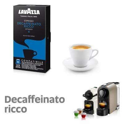 300 capsule caffè Lavazza compatibili NESPRESSO DECAFFEINATO RICCO