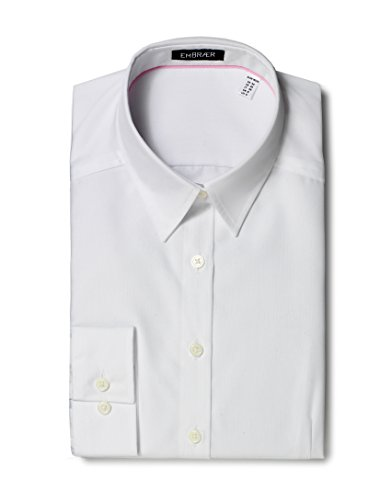 EMBRÆR - Camicia - Basic - Classico  - Maniche lunghe  -  donna Bianco