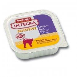 Animonda Integra Sensitive Lamm & Reis 100 g, Futter, Tierfutter, Nassfutter für Katzen