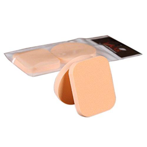 Susenstone Maquillage Fondation 2PCS Beauty Cosmetic Visage Facial Sponge Powder Puff