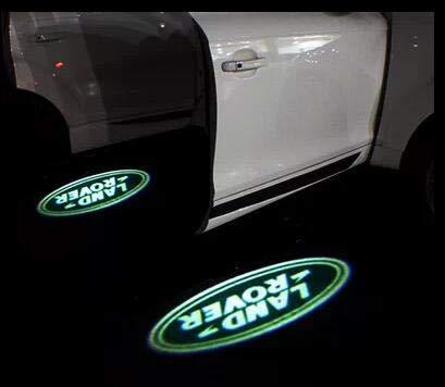 Aokairuisi Kit Luci LED CREE Logo Proiettore Land Rover Cortesia sottoporta 5W 12V