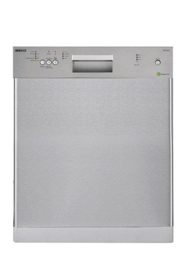 Beko DUN 4530 FX Unterbaugeschirrspüler / A+ / 291 kWh/Jahr / 12 MGD / 3920 Liter/Jahr / 14 L Wasserverbrauch im Standardprogramm / edelstahl