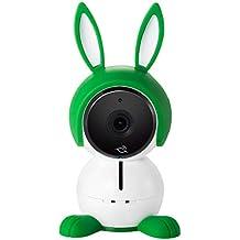 Arlo Baby Smart Babyphone, WLAN-Babykamera 1080p HD mit 2-Wege-Audio, Nachtsicht, Luftsensoren, Schlaflied-Player, Nachtlicht, funktioniert mit Amazon Alexa, HomeKit, ABC1000