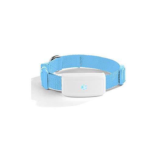 MOMAMO Localizzatore GPS Tracker Collari per Cani, Mini GPS Collare per Pets Cani e Gatti Animali Domestici Impermeabile, App per smarphone e PC Tablet