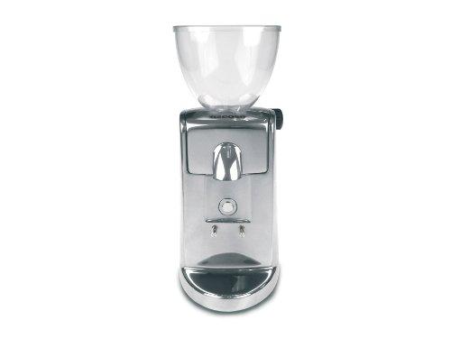 Mini Kaffeemühle (Ascaso M-311 i-mini i-1 Kaffeemühle aluminium poliert Scheibenmahlwerk)