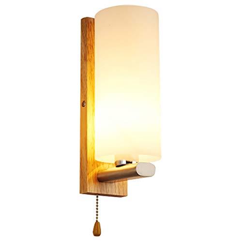 Nachttisch Wandlampe Schlafzimmer Modern Massivholz Wandleuchte Wohnzimmer Gang Sofa Arbeitszimmer Beleuchtung Lampe