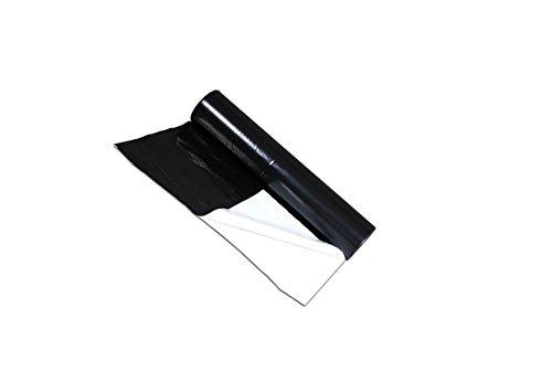 Gewächshausfolie Reflektionsfolie Schwarz/Weiß 2 Meter breit, laufender Meter, 60µm