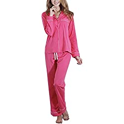 FeelinGirl Pyjama Femmes Chaud Pyjama Pantalon Femme Pyjama Rouge Femme Pyjamas Combinaison Femme Pyjama Femmes Pas Cher Femme Pyjama Sexy Combinaison Pyjama Femme Rose Pyjama Femme Nuit Pyjama fe