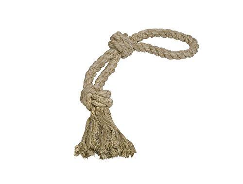 Nobby Rope Toy, Spielseil doppelt Sisal-Cotton-Mix natur 55 cm; 350 g; 2 Knoten