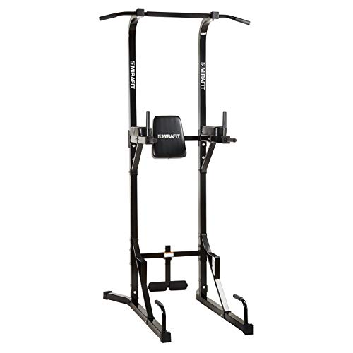 Mirafit VKR Multi Function Gym Power Tower - Black or Silver