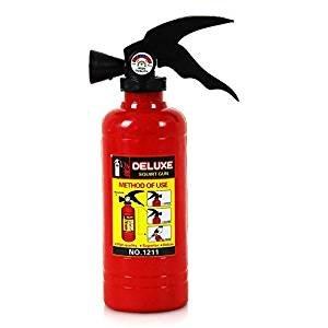 KSS 5 x Stück ! Wasserpistole Feuerlöscher Kindergeburtstag Tombola (Kostümen Heiße Feuerwehr)