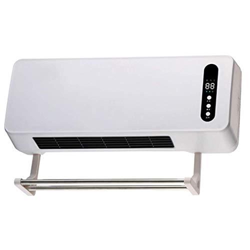 HPTC Calefactor de Aire Acondicionado pequeño de Pared Calentador eléctrico Calefactor Ventilador...