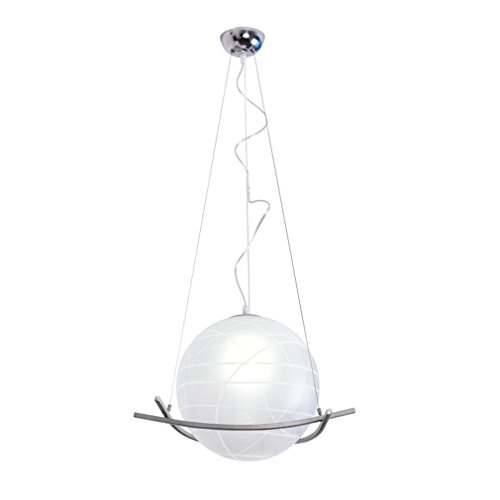 Restaurant-beleuchtung (Kreatives Persönlichkeit Kugel Pendelleuchten Retro Industrielle Metall Glas Lampenschirme E27 1 flammig Hängeleuchte Wohnzimmer Restaurant Beleuchtung Decoration Hängeleuchte)