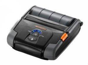 BIXOLON SPP-R400BK/BEG 4INCH MOBILE RECEIPT PRINTER DT SERIAL USB BT DARK GREY IN - (Printers > Barcode & Label