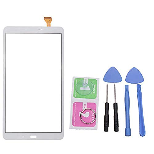 SUCAN Touchscreen Digitizer für 10,1 Zoll Samsung Galaxy Tab A 10,1 Sm T580 W Tools - Weiß Touch-screen-tools