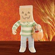 sign Last Minute Kostüm Halloween Figur ()