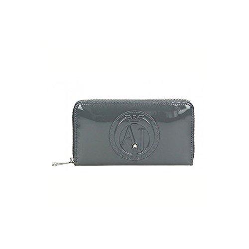 Armani Jeans928532cc855 - Pochette Donna , grigio (Grau (GRIGIO 00143)), 2x10x19 cm (B x H x T)