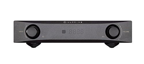NuPrime IDA-8 DAC Vollverstärker (schwarz)