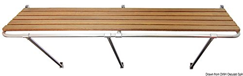Heck-Badeplattform 170 x 55 cm -