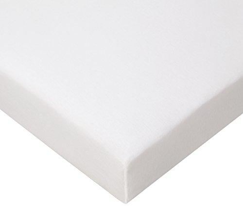 Lot de 3 draps housse Coton - 70x160 - blanc