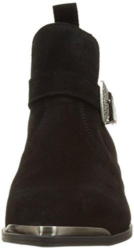 IKKS Damen Bottine Basse Bj80055 Kurzschaft Stiefel Noir (Noir)
