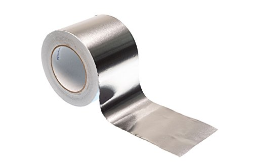 Gocableties BO-PRO-ALI-100-50-A Bluaberg UK Aluminiumfolie, selbstklebend, 50 m x 100 mm, silberfarben