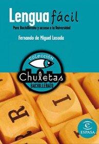 Lengua fácil para bachillerato (Chuletas) - 9788467027884