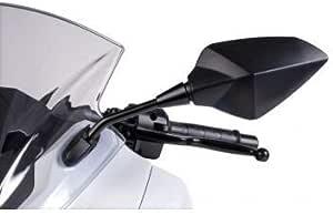 omologato nero Puig 7341/N RS1/specchio esterno per auto lato sinistro con asta