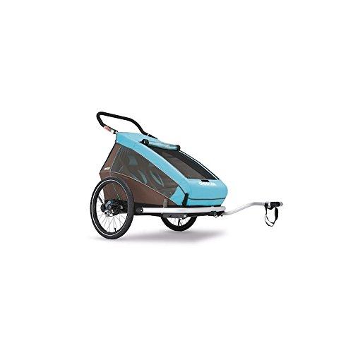 Przyczepka rowerowa CROOZER KID PLUS dla 2 dzieci 2017