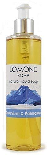 Lomond SOAP geranio & Palmarosa Palma Sin Aceite Natural Vegano jabón líquido para PIEL SENSIBLE 250ml