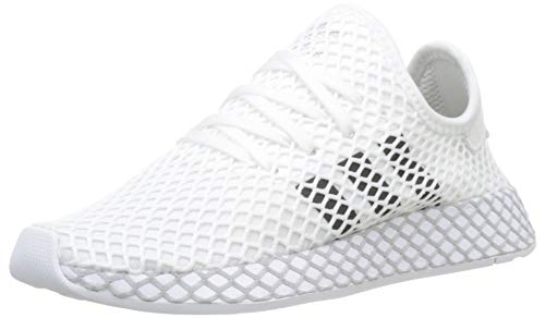 adidas Deerupt Runner, Scarpe da Fitness Unisex-Adulto, Bianco (Ftwr White/Core Black/Grey Two F17), 37 1/3 EU