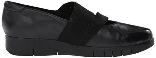 Clarks Daelyn Villa piatto Black Leather