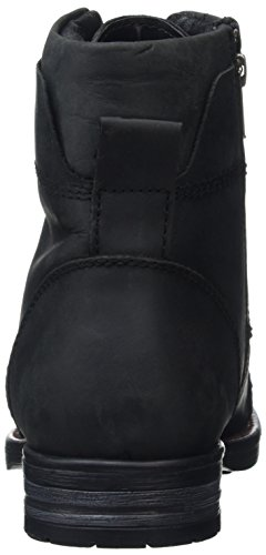 Joe Browns - Must Have Oiled Leather Boots, Anfibi Uomo Black (Black)