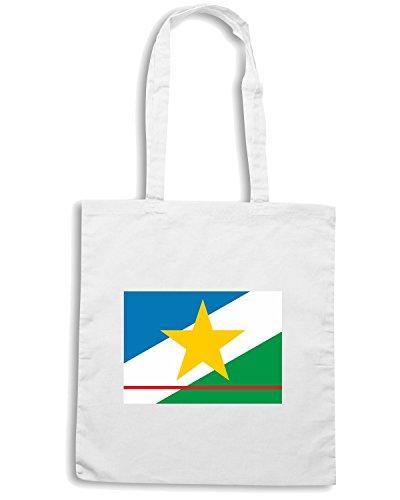 T-Shirtshock - Borsa Shopping TM0162 bandeira de roraima flag Bianco