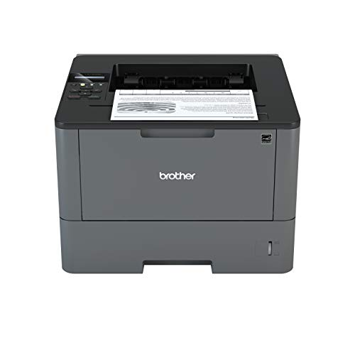 Brother HL-L5100DN A4 Mono Laser Printer, PC Connected and Network, Print and Duplex 2 Sided Printing