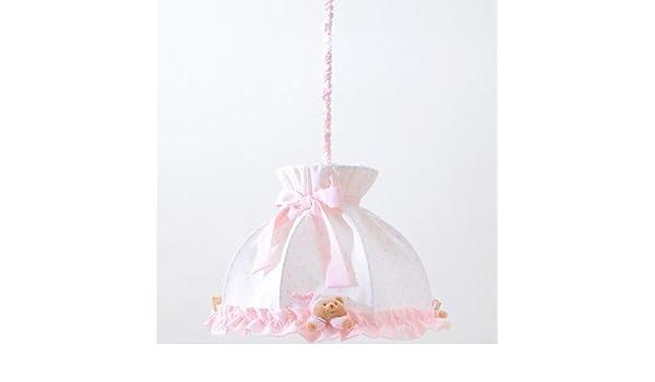 Lampadario Nanan Rosa : Lampadario nanan puccio rosa amazon baby