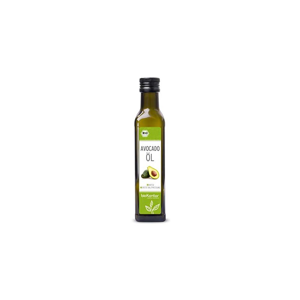 Avocadolavocado Fruchtfleischl Bio Zertifiziert Nativ Kaltgepresst 100 Rein Von Biokontor 2x250ml 500ml
